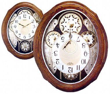 4mh861wu06 American Gala Rhythm Clocks Clock World Clock