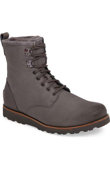 Ugg Hannen Plain Toe Waterproof Boot