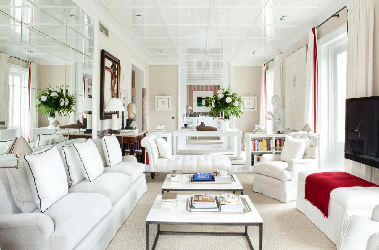 furniture placement long rectangular living room - Google ...