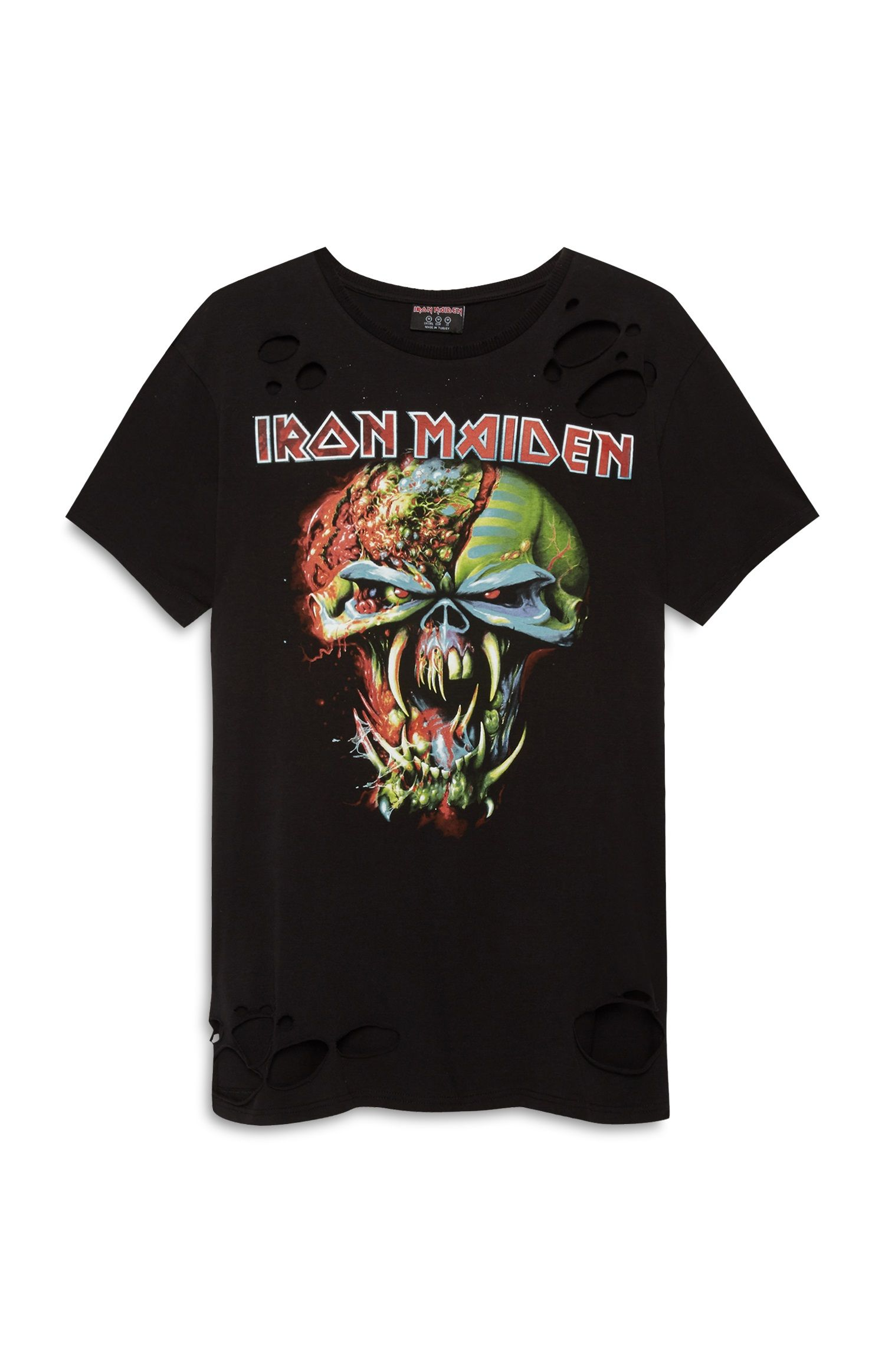 1c4553fde0a Primark - Black Iron Maiden T-Shirt