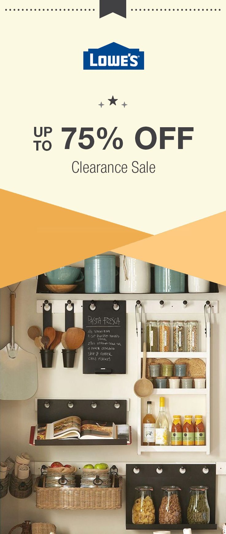 Right Now Lowes Is Offering Up To 75 Off Clearance Sale Plus