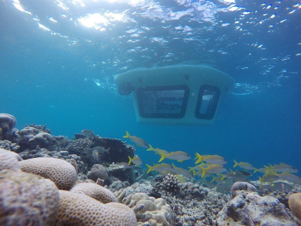 Such a cool way to see under the waves - World's 1st semi-sub launches at Hideaway Beach Resort Maldives