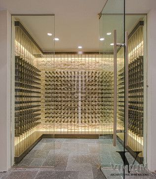 Vinium Series - Architectural Wine Racking - contemporary - wine cellar - other metro - Kessick Wine Cellars | Wine Closet | Pinterest | Wine cellars Wine ... & Vinium Series - Architectural Wine Racking - contemporary - wine ...