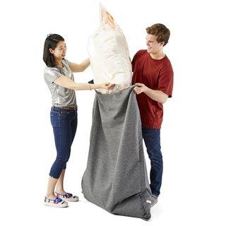 Strange Big Joe Megahh Bean Bag Refill 100 Liter 2 Pack White Ibusinesslaw Wood Chair Design Ideas Ibusinesslaworg