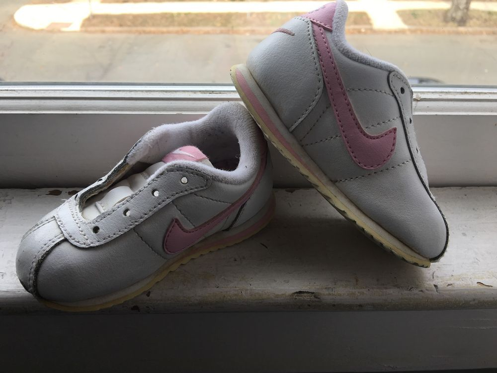 Nike Girls' Leather Medium Width Shoes for Babies