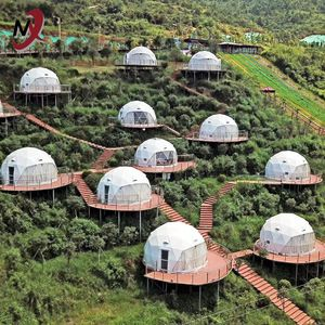 Source Prefabricated Dome Houses On M Alibaba Com Geodesic Dome Homes Dome House Geodesic Dome