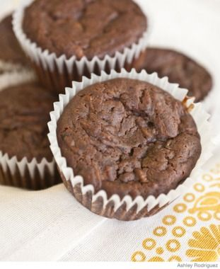 On-the-Go Breakfast Recipe: Chocolate Zucchini Muffins