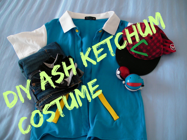 YOUTH FELT Pokemon Go Ash Ketchum Trainer Vest Jacket FELT Costume Halloween Cosplay Anime