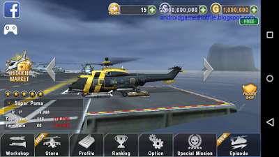 Gunship Battle Helicopter 3D v2.3.00 Mod Apk [Unlimited Money & Gold] |  latest android games mod apk 2016-2017 | Gunship, Helicopter 3d, Helicopter