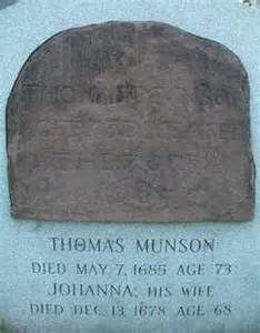 captain thomas munson 1612 - 1685 - - Yahoo Image Search Results