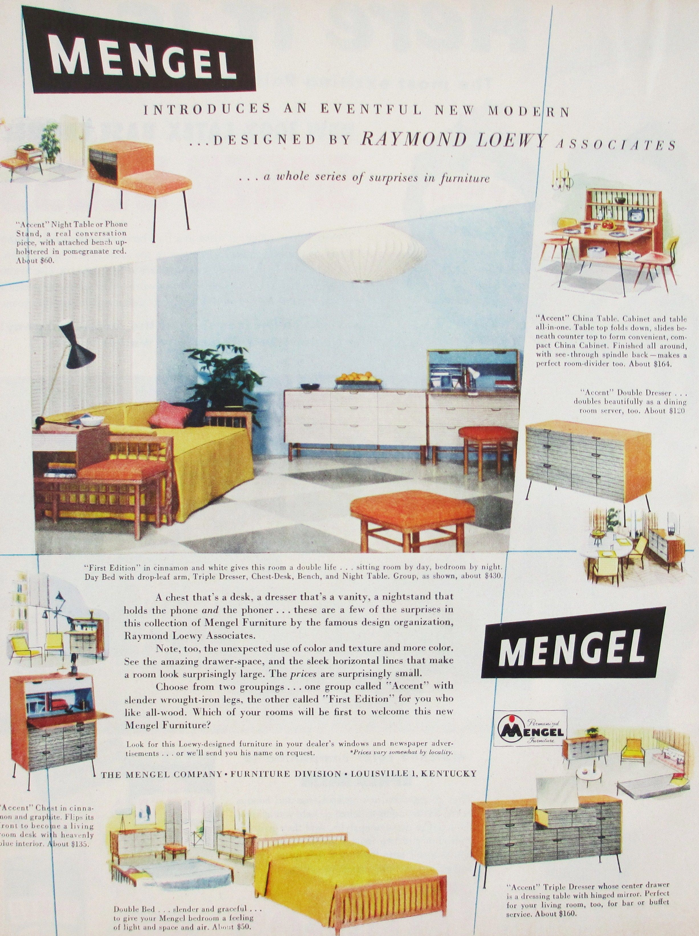 Modern Furniture Ads vintage furniture ads | for the home | pinterest | vintage