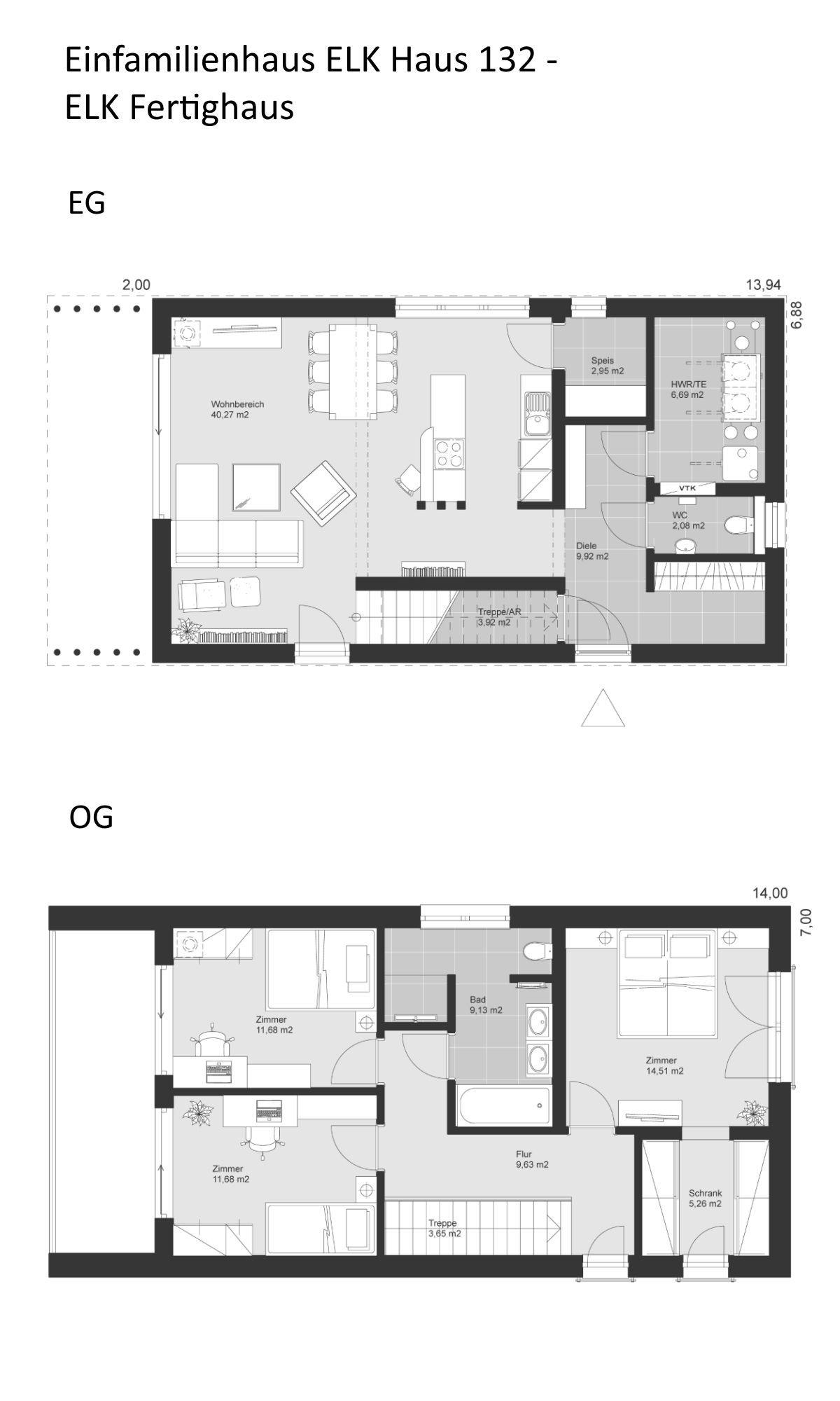Treppe Im Haus Grundriss | Elk Haus Elk Haus 189