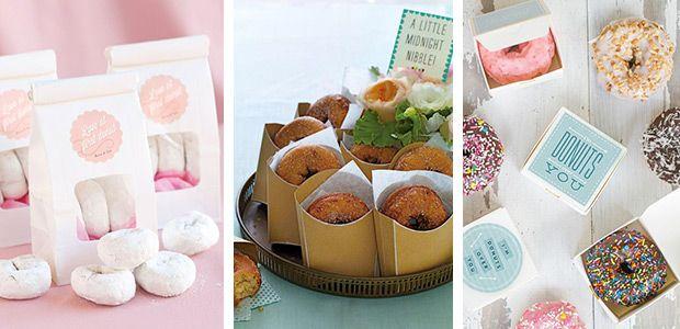 Donuts 13 Sweet Edible Wedding Favour Ideas wwwonefabday