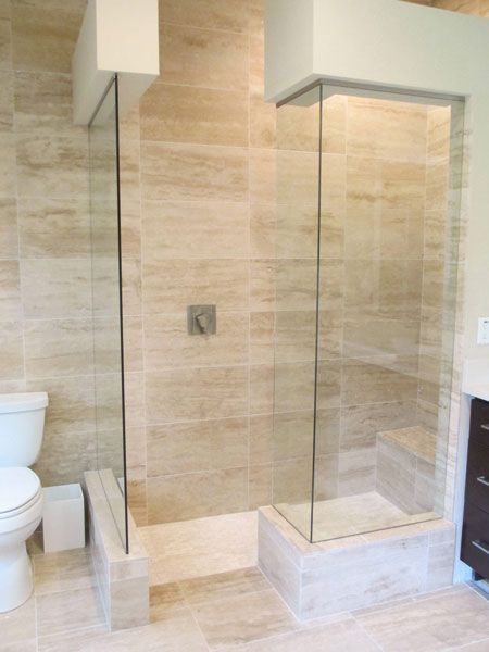 Open Shower Enclosure Frameless Shower Enclosures Frameless
