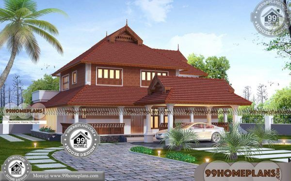 Low budget nalukettu house plans storey home collections also rh pinterest