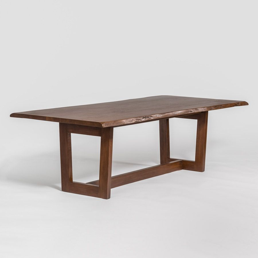 Aspen 96 Dining Table Alder Tweed Furniture