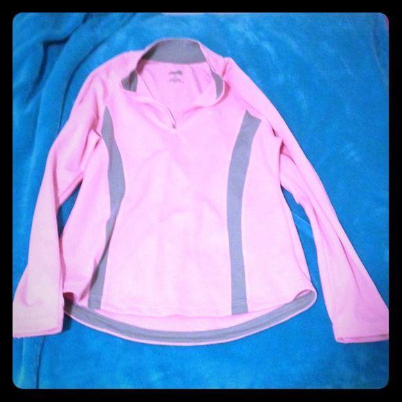 Athletic top Lightweight quarter zip work out top. Never worn Avia Tops Sweatshirts & Hoodies