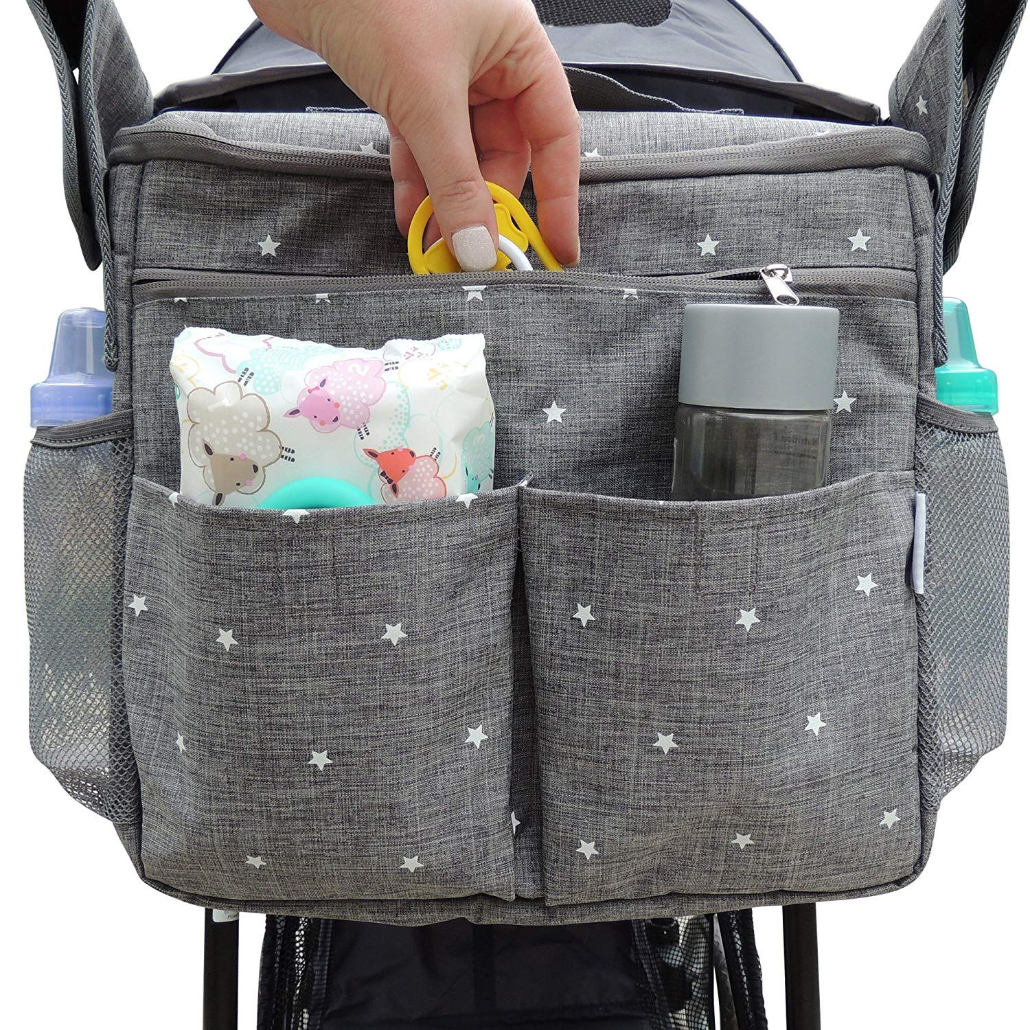 Micro Koos Pram Pushchair Stroller Buggy Organizer Bag for Jane Crosswalk R