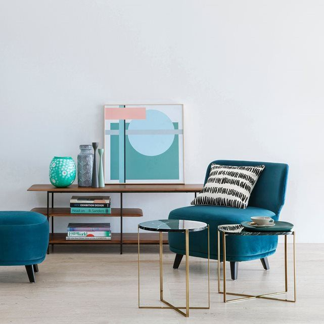 Meuble tv hi fi noyer jacobson home pretty home living room inspiration living room decor - Ampm meuble tv ...