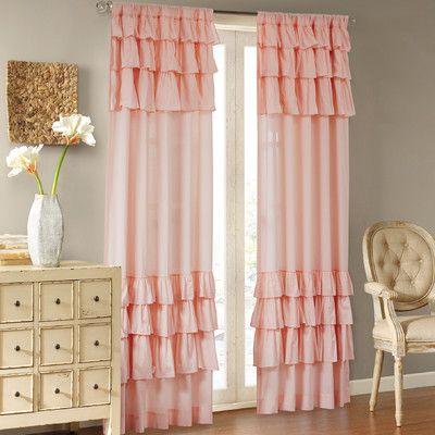 House of Hampton Gleason Single Curtain Panel Size: 63\