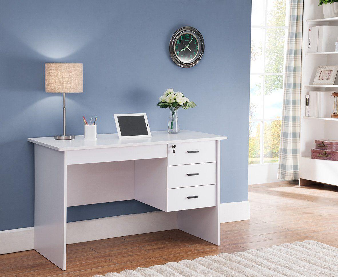 smart home modern lockable drawers computer laptop writing