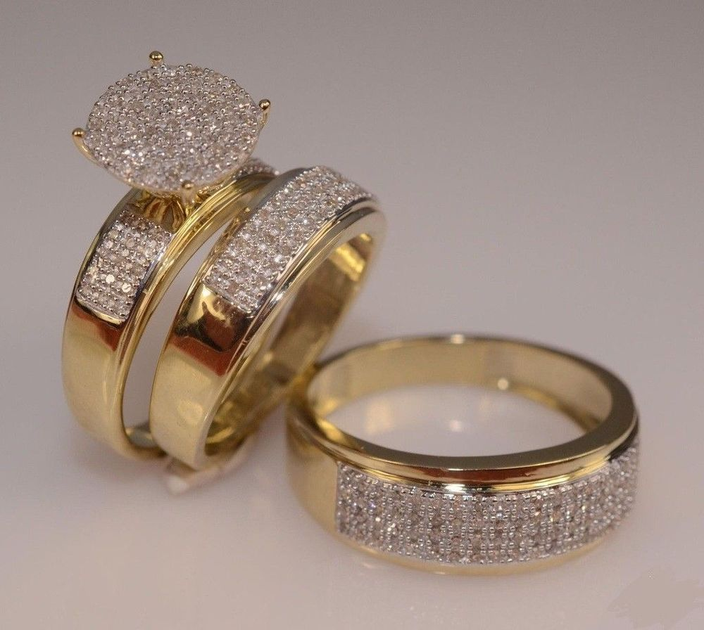 Pin On Trio Ring Sets