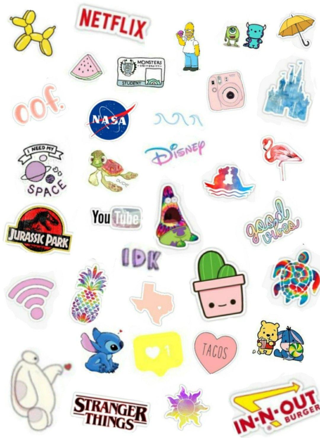 Follow Me On Pinterest Jazmine Calzada Aesthetic Stickers