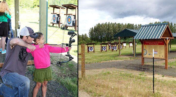 New archery range opens near corvallis oregon archery