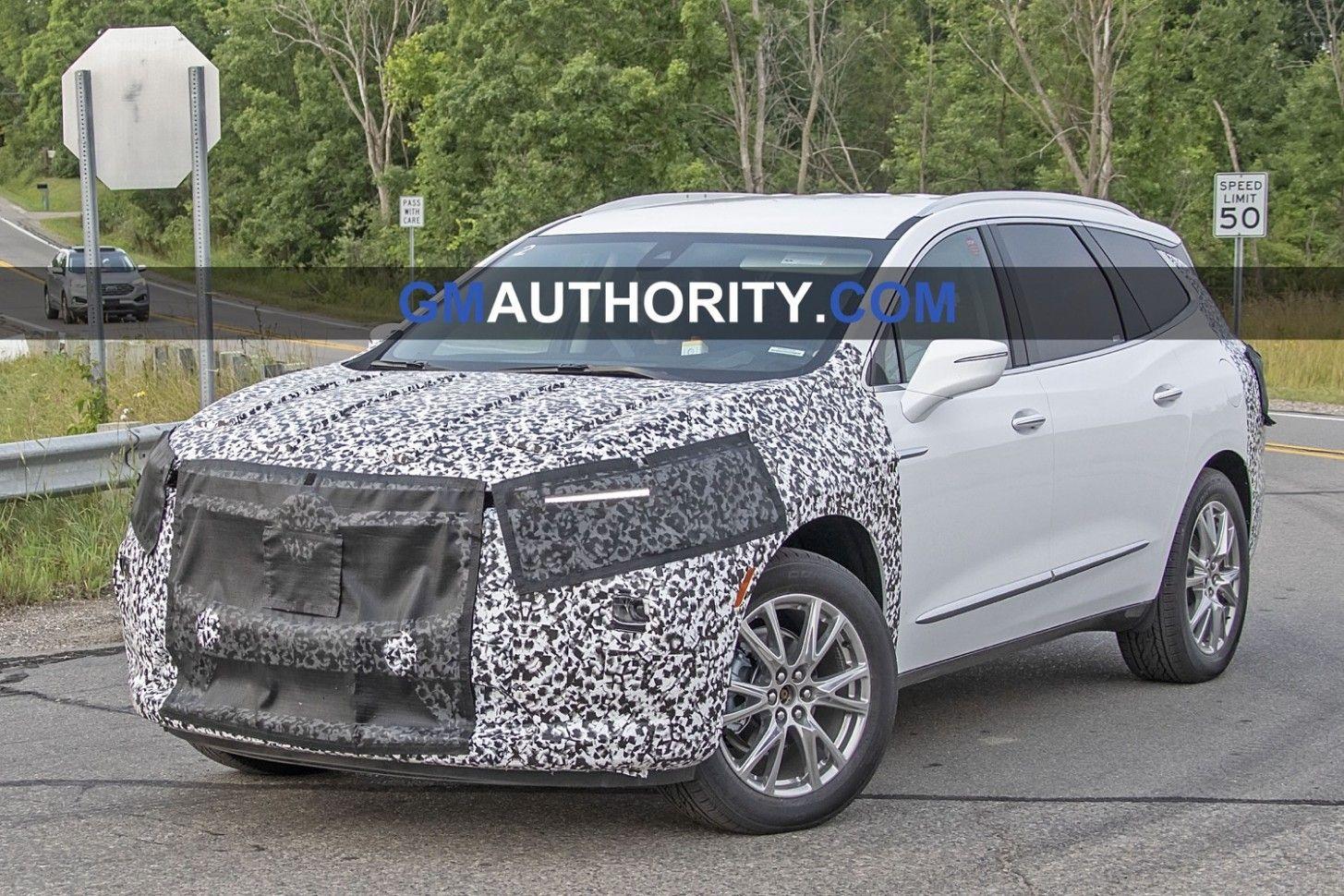 2021 Buick Enclave Spy Photos Concept