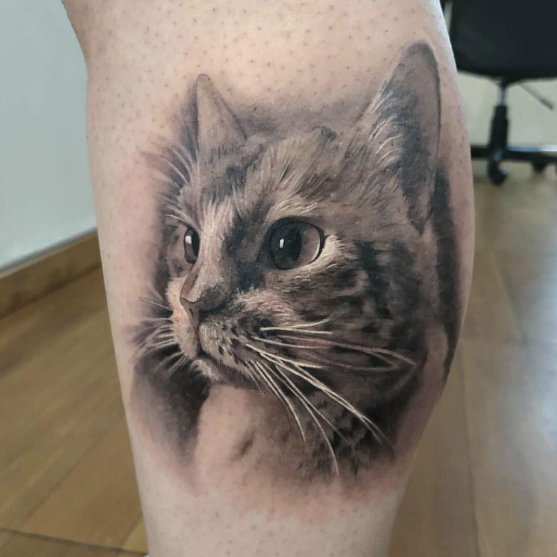 Tatuajes De Gatos Reales Cat Tattoo Cat Paw Tattoos Paw Tattoo