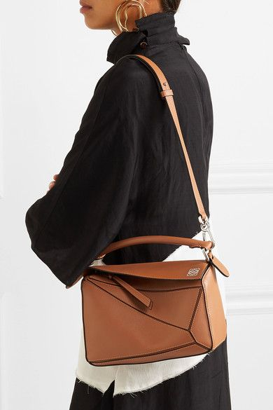 360aa37274a6d Loewe | Puzzle small leather shoulder bag | NET-A-PORTER.COM | Sac ...