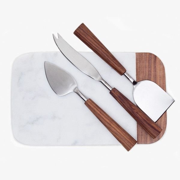 Use this Cheese Knives Set of 3 and impress guests with perfectly sliced cheese