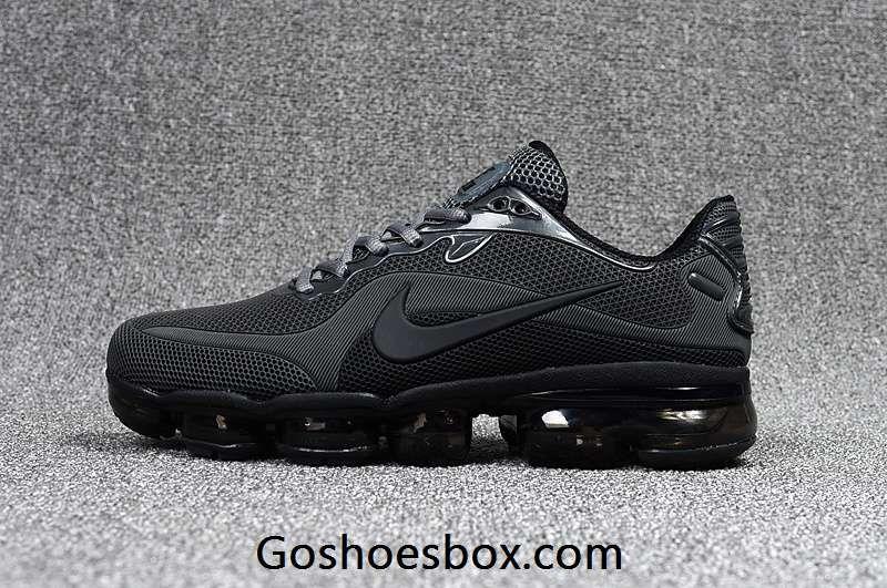 79957f4aec4e7 New Style Nike Air VaporMax 2018 KPU All Black Men Shoes