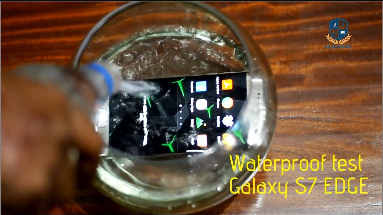 Galaxy s7 Edge water test | User Experience Review | Packaging | Feature