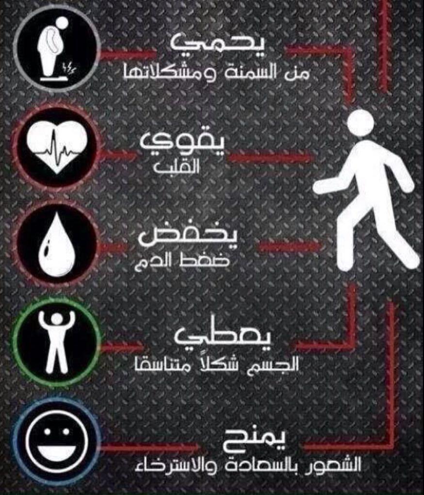 بعض فوائد المشي منشن لمحبي المشي معلومات مشي Body Hacks Body Hacks