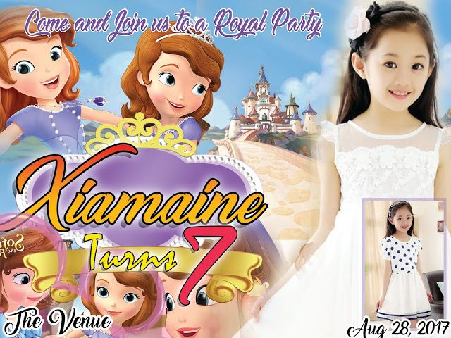 Sofia The First Sample Layout Tarpaulin Welcome Guys To Our Site