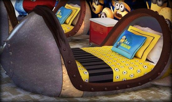 dicpicabele me beds   Despicable Me missile bed.