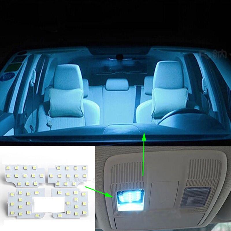 4pcs Per Set Super Bright Led Interior Dome Map Reading Light Lamp For Mazda Cx 5 Cx5 Atenza Axela Car Styling Reading Light Lamp Light Bright Led