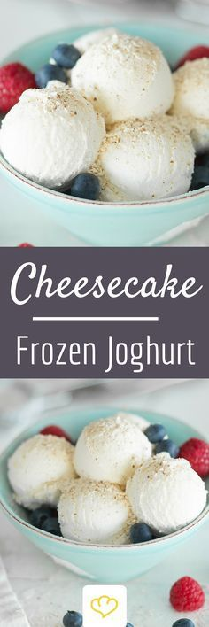 Cheesecake-Frozen-Joghurt #cheesecakes