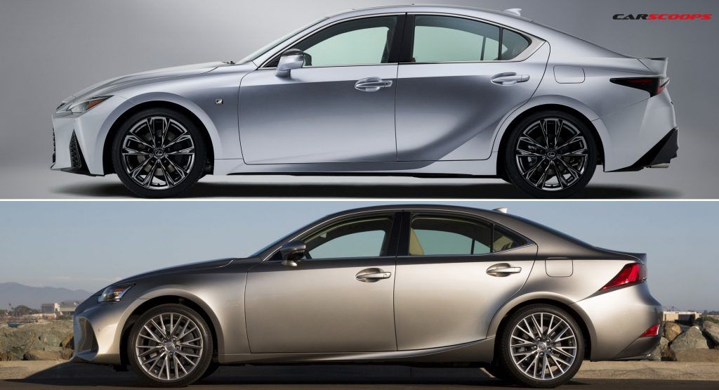 How Does The 2021 Lexus IS Compare To The Outgoing Model
