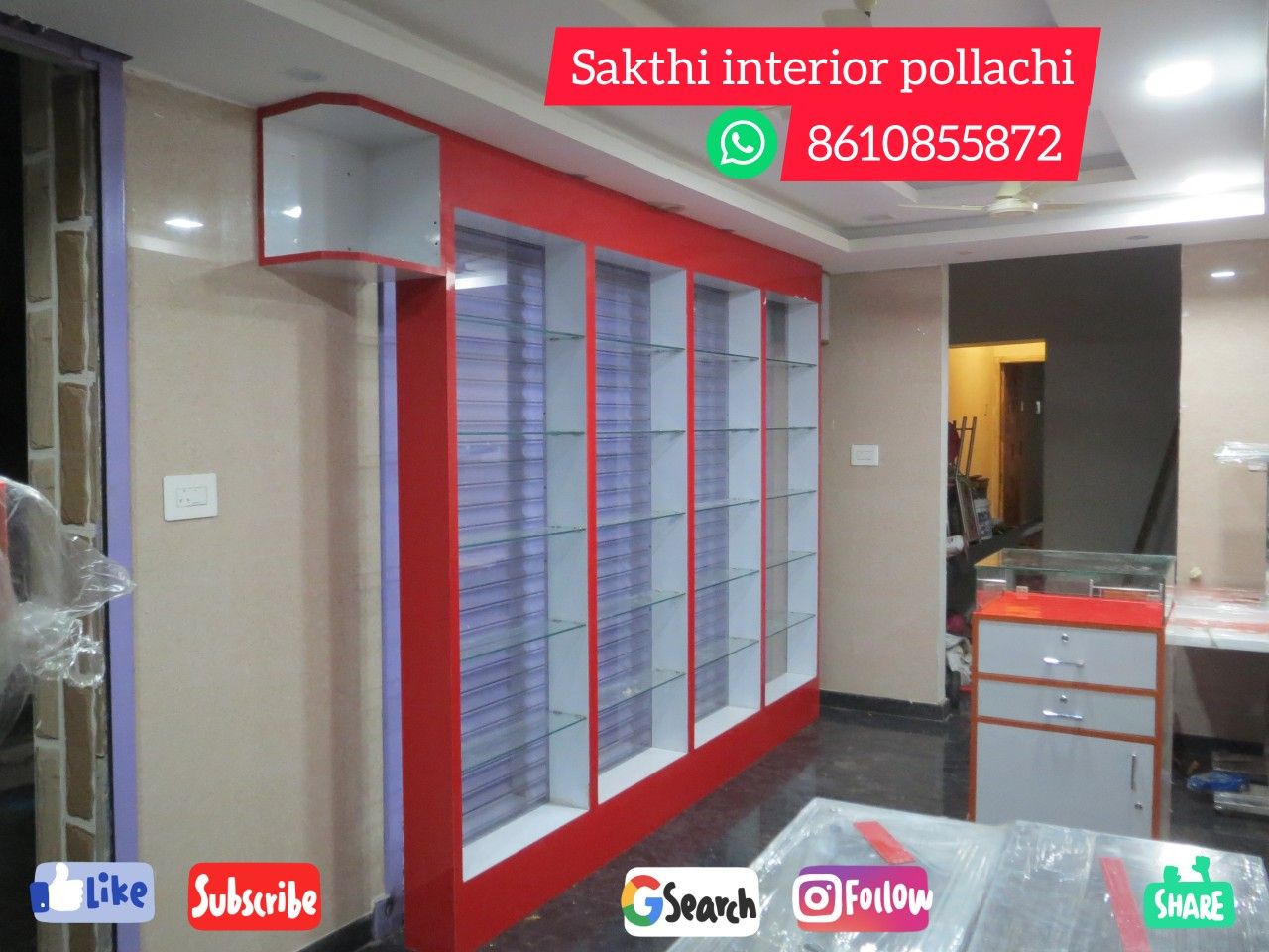 Bakery Design Interior By Pollachi Carpenter Sakthi Inte On Wardrobes