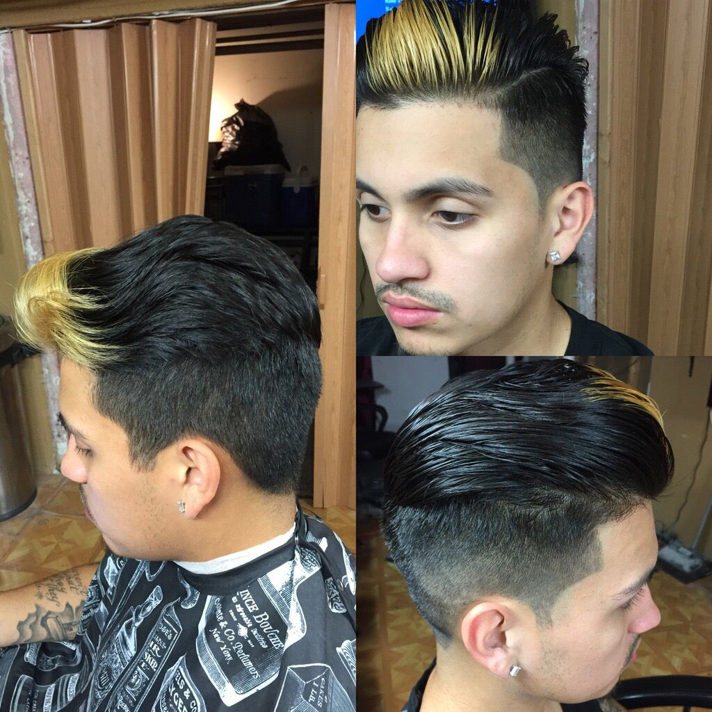 Haircut for men mohawk pin by marie quinga on maries look book men haircut  pinterest