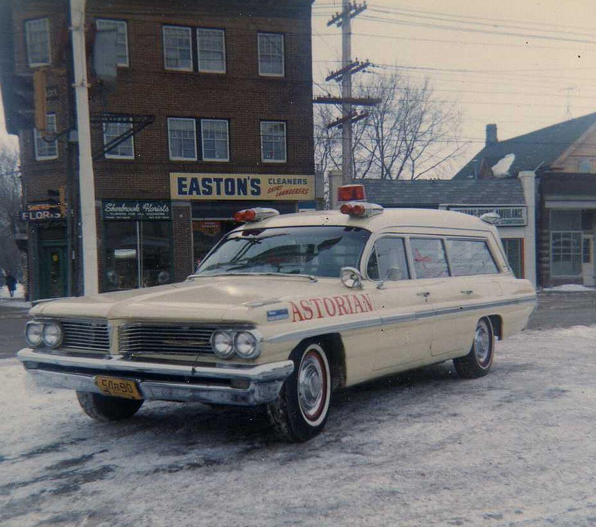 1962 Pontiac Vintage Ambulance (Astorian Winnipeg Canada) | Fire ...