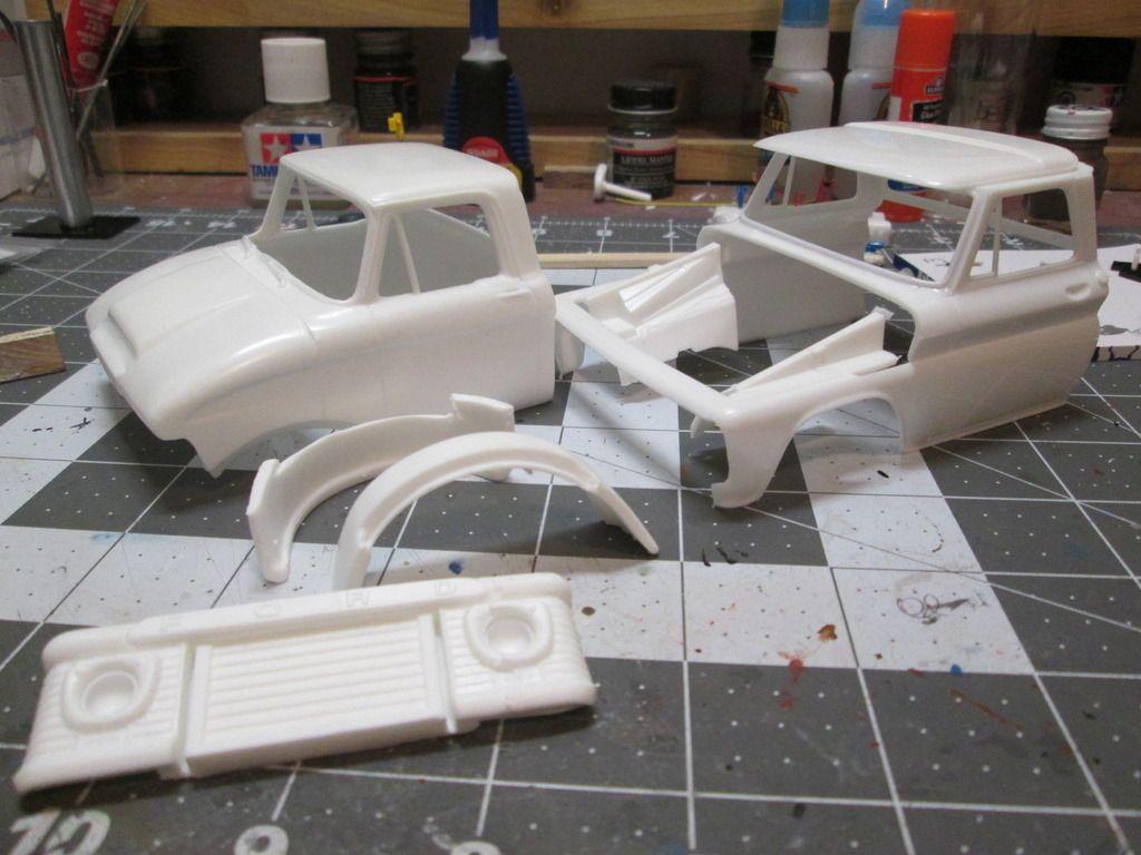 B toys car wheel  GMC B  On the Workbench Big Rigs  Model Cars Magazine Forum