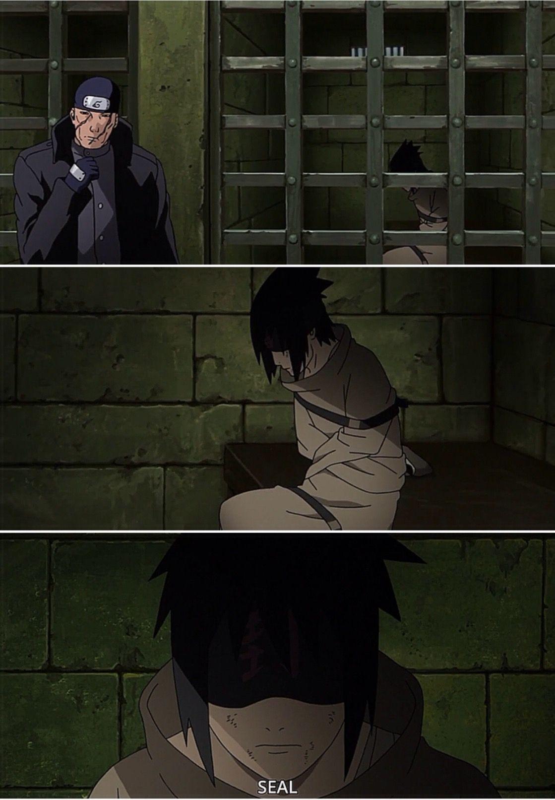 Sasuke in a straight jacket | Naruto ○ | Pinterest | Straight ...