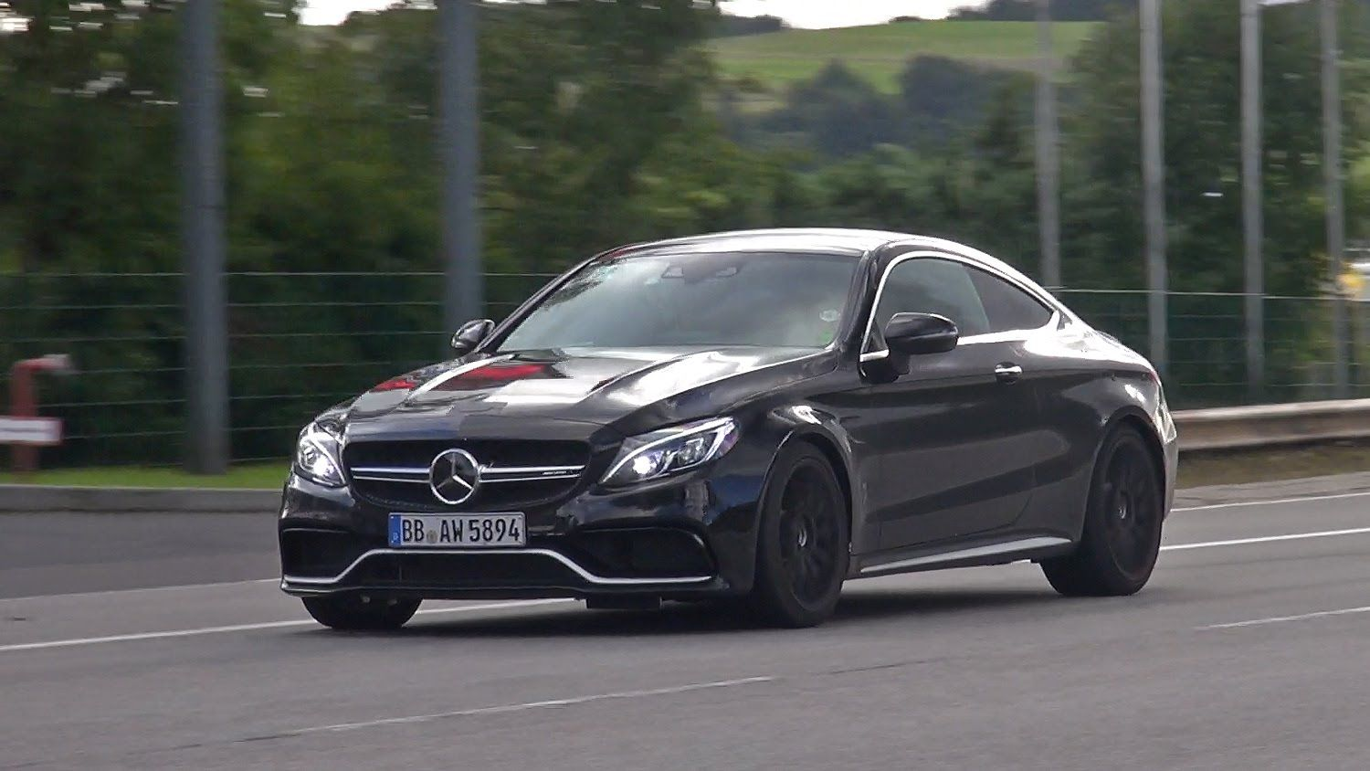 W204 Mercedes C63 AMG Coupe