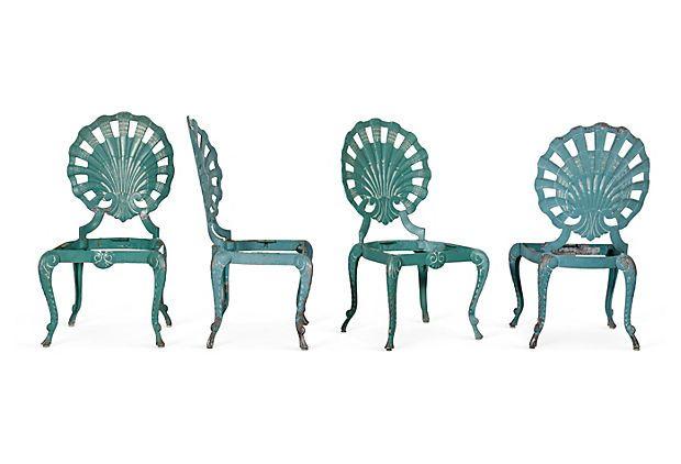 Awe Inspiring Brown Jordan Grotto Chairs Set Of 4 On Onekingslane Com Pabps2019 Chair Design Images Pabps2019Com
