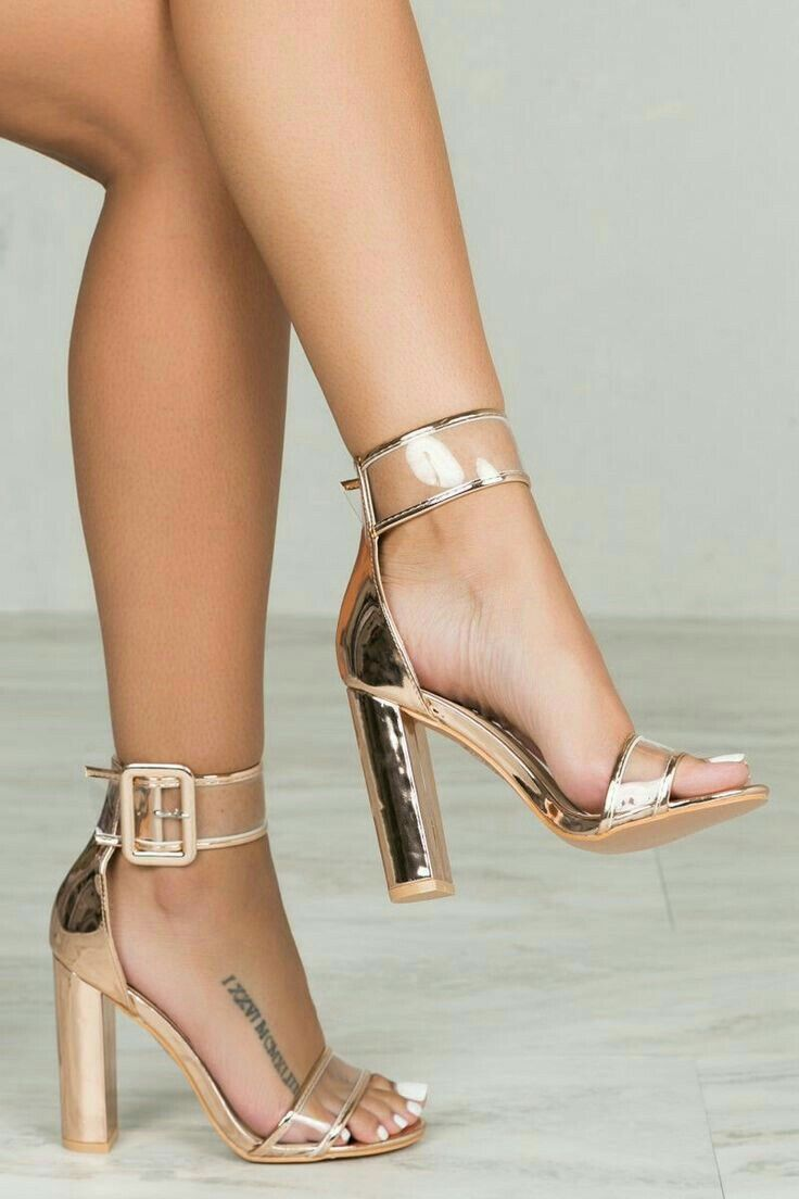 593d3a9d44d2 ⊱✰⊰Blessed  ⊱✰⊰  xoxojamm✨ Gold Sandal Heels
