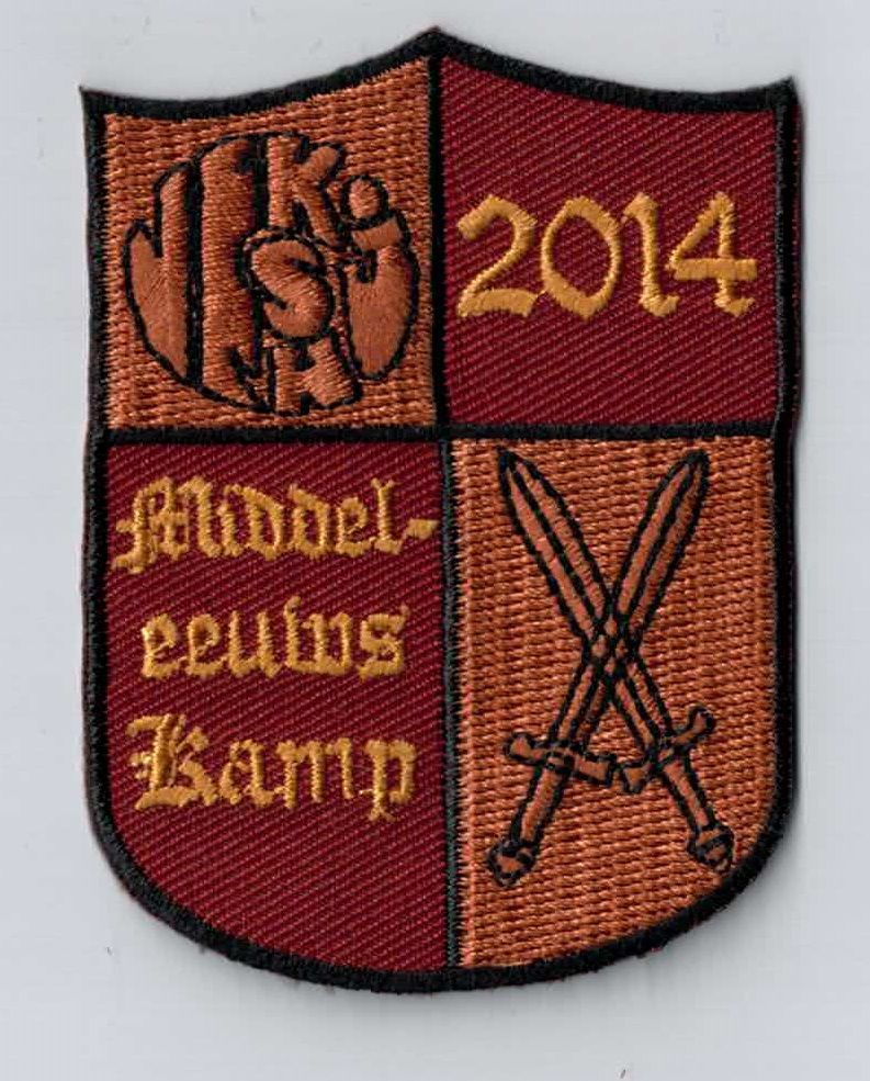 Is your camp theme 'Harry Potter'? Every youth movement should have a patch like this as a camp memory. You can simply sew or iron it on your uniform. Upload your own design on ibadge.com!