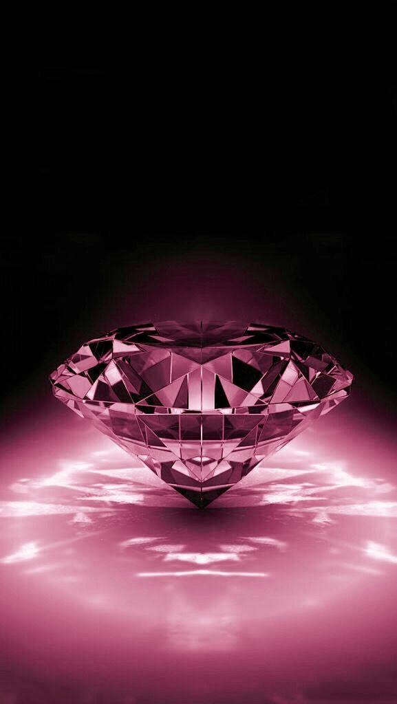 Black and pink diamond pinterest bilder for Schwarze glitzer tapete